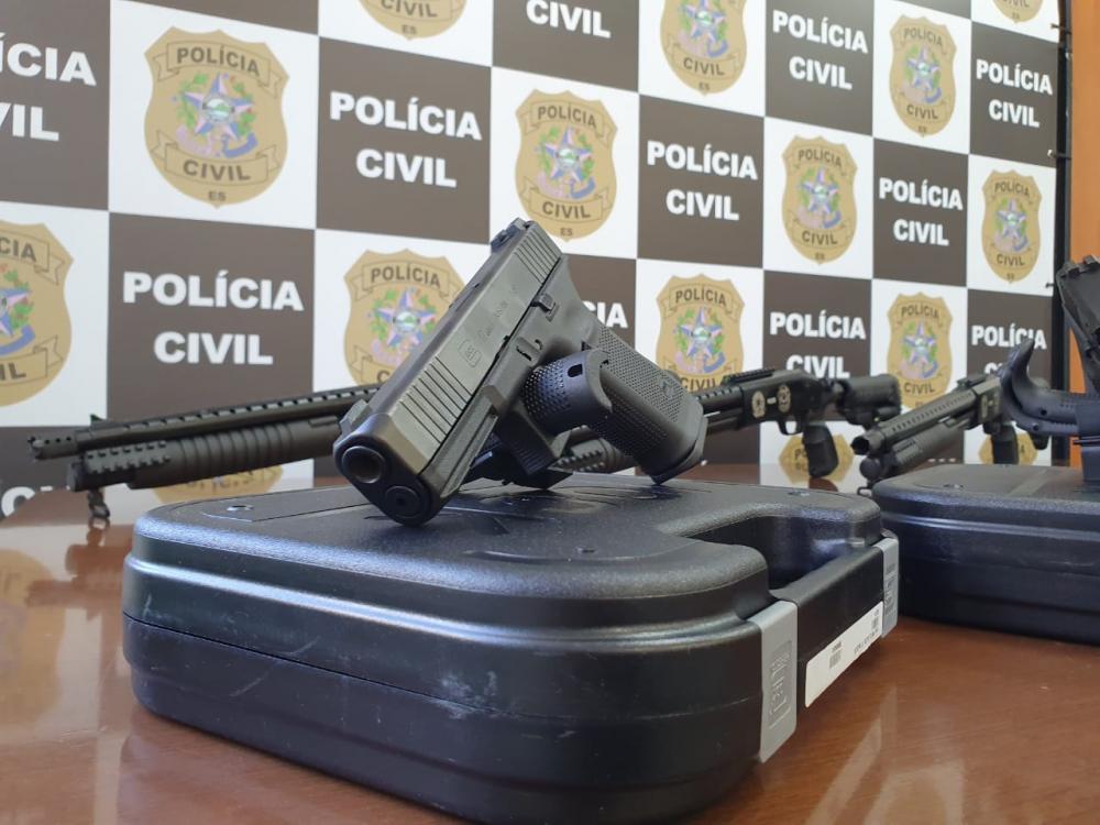 Das 1.020 novas armas, 920 pistolas são da marca Glock. Foto: Ademir Ribeiro/Secom