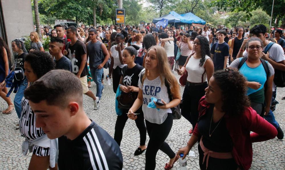 Neste semestre, o ProUni oferece 252.534 bolsas de estudo. Foto: Fernando Frazão/Agência Brasil