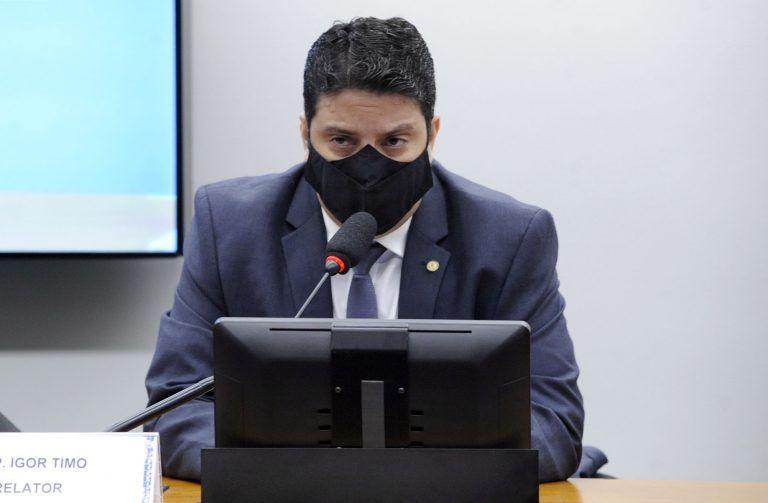 Para o relator, Igor Timo, punir Eduardo Bolsonaro seria praticar censura - (Foto: Gustavo Sales/Câmara dos Deputados)