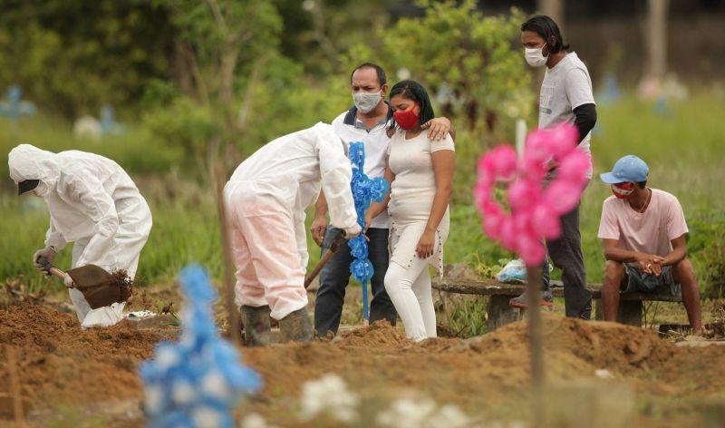 Especialistas apontam variante P.1 e outras razões para avanço rápido da pandemia - (Foto: Raimundo Paccó/Framephoto/Estadão Conteúdo - 28.3.2021)