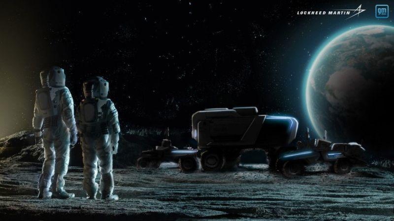 Veículo elétrico autônomo será usado em missões do programa Artemis da Nasa - (Foto: Divulgação/Lockheed Martin)