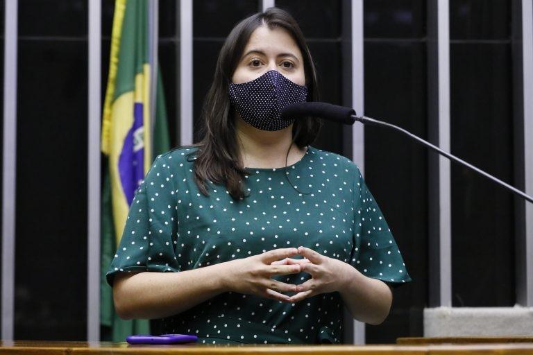 Sâmia Bomfim vai pedir a recomposição do orçamento da Educação - (Foto: Maryanna Oliveira/Câmara dos Deputados)