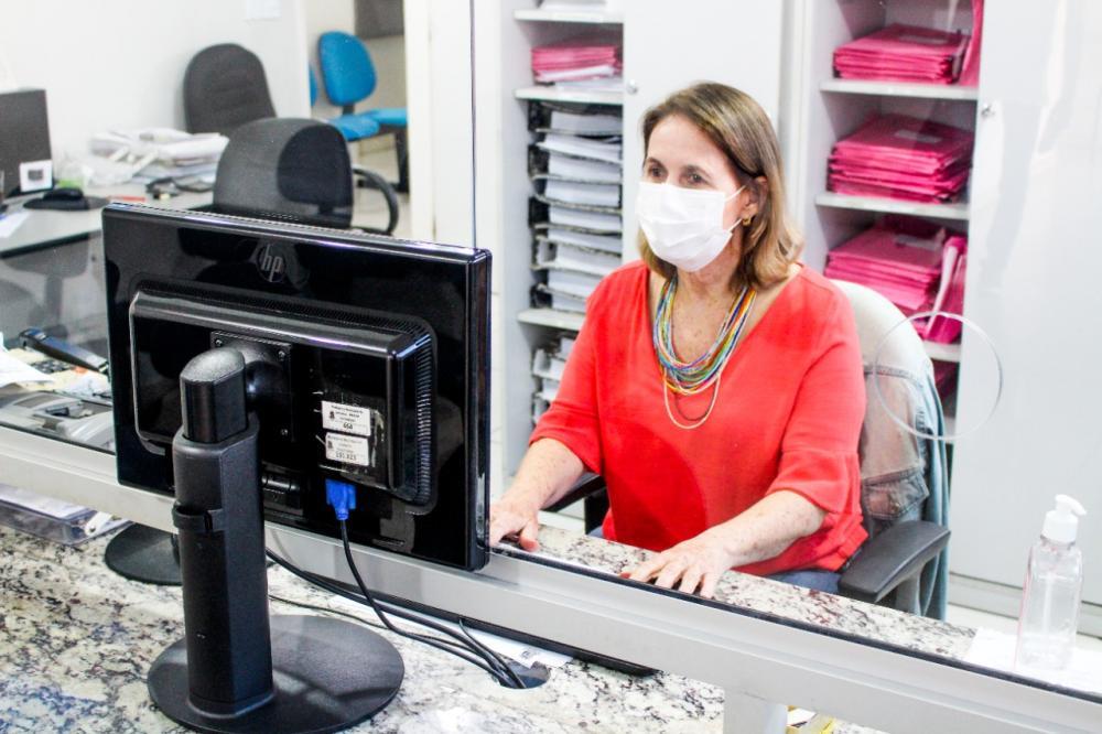 Para maior conforto dos contribuintes e privacidade, o atendimento é individualizado. Foto: Secom/PML